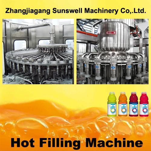Automatic PET bottles coffee beer rotary filling line Beverage Filling Machine
