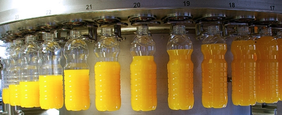 Industrial vitamin drinks, milk, beverage bottling rinsing, filling and capping machines