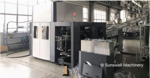 Cina berita terbaru tentang Sunswell 20,000BPH CSD PET Bottle Blowing Machine ke AS