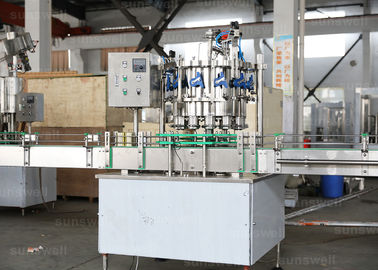 Cina Aluminum energy drinks, beer Pop Can automatic rotary Filling Machine 1,500BPH (330ml) pabrik