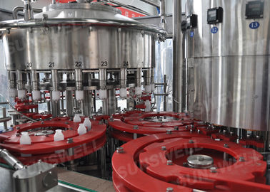 High Pressure Hot Tea Filling Machine Bottled Drink , stainless steel