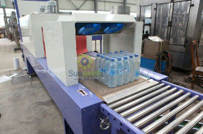 Cina High Speed Shrink Packaging Equipment , PE Film Beverage Wrapping Machinery pabrik