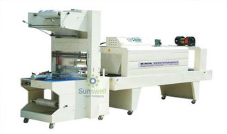 Cina High Efficient Shrink Packaging Equipment , PE Film Automatic Wrapping Machine pabrik