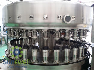 Cina Powerful  Automatic Aluminum Can Filling Machine For Beverage Juice / Beer Soda pabrik