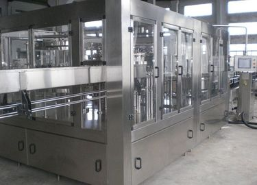 Cina Compact Beer Filling Machine , Automatic Glass Bottling Equipment pabrik