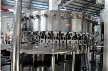 2.2KW PET bottles Soda water filling machine system 18 heads 3,000BPH (500ml) Capability