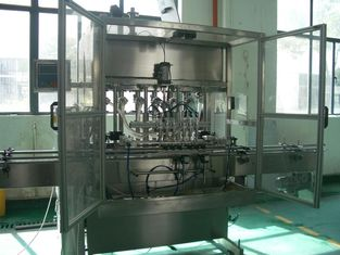 Automatic Liquid  Piston Filling Machine for Bottling of cosmetics, food, thick cream, oil