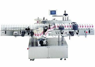 Cina Food and Beverage Automatic cold glue labeling machine for round bottles 380V, 50Hz pabrik