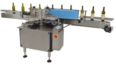 Cina 400w Automatic Single Side Self adhesive Sticker Labeling Machines Eequipment for Bottles pabrik