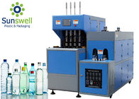Botol PET Plastik Extrusion Blow Molding Machine Untuk Air Mineral Air Murni