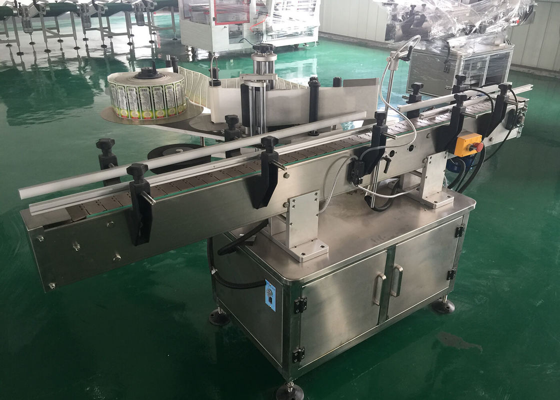 Automatic Self Adhesive Sticker Labeling Machine For Plastic Glass Bottles