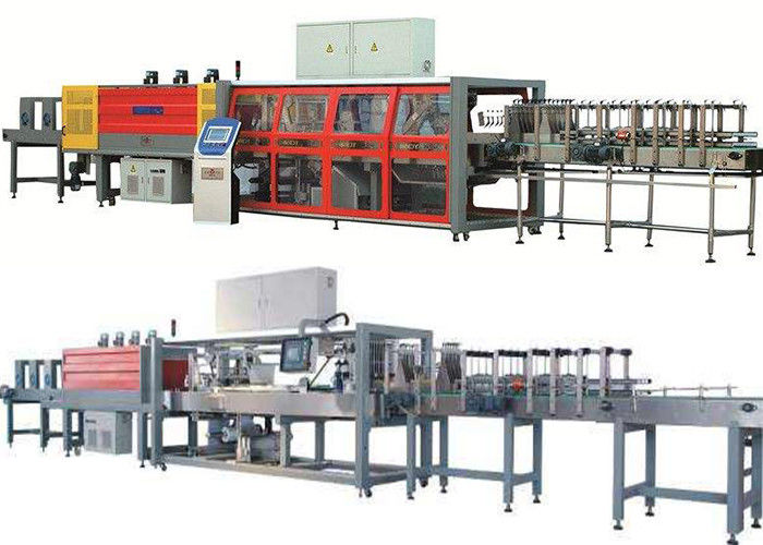 Stable Highly Speed Shrink Packaging Equipment With High Capacity For Brewery