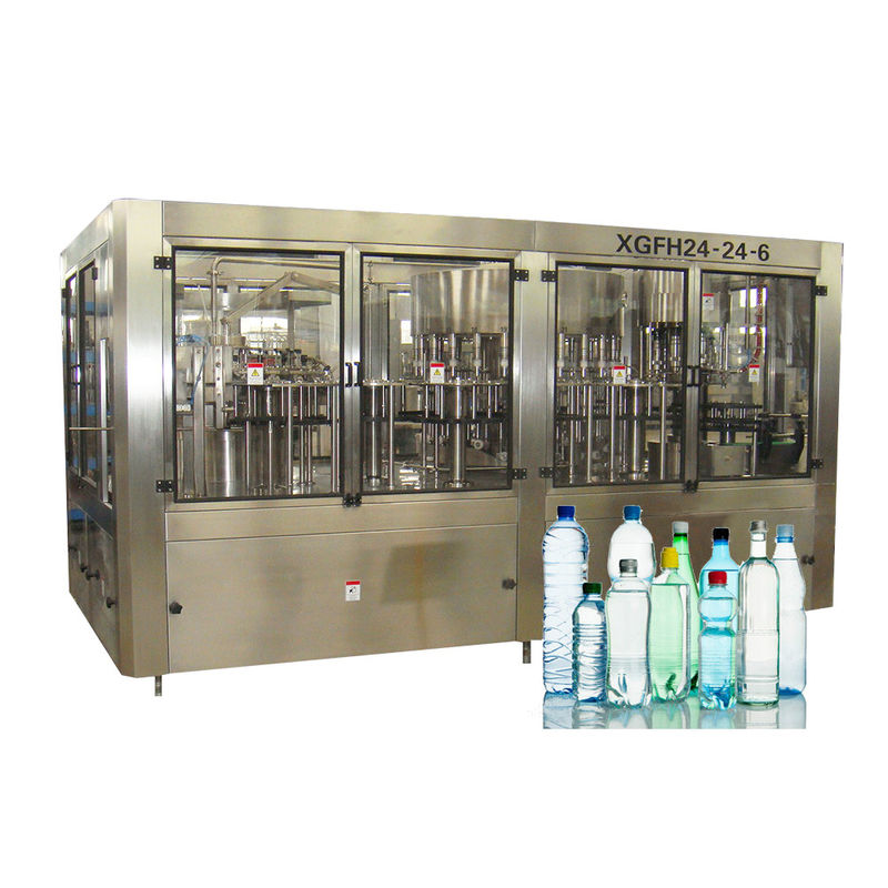 Stable Automatic Bottling Water Filling Machines For 5 Liters Product Line
