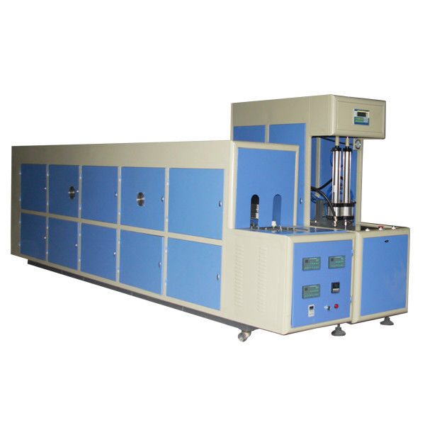 7kw Semi Automatic Plastic PET Stretch Blow Molding Machine for Hot Fill Bottles 6000ML
