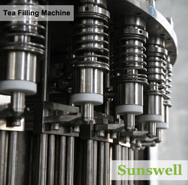 Cina PET Bottle Tea Filling Machine , Automatic Black Tea Filling Equipment pabrik