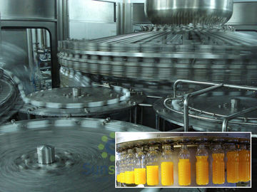 Full Automatic Hot Filling juice production machine 500ml Bottle
