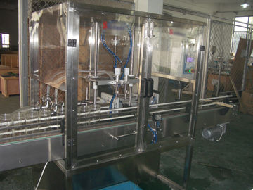 Cina Piston Filling / filler Machine with Blocked nozzles for Liquid Bottling of oil, detergent pabrik