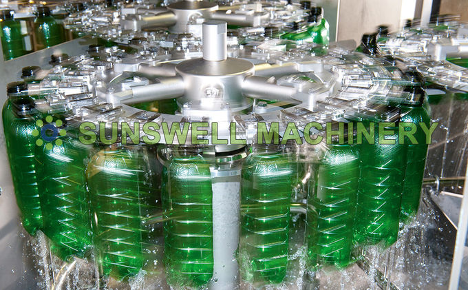 Full Beverage processing machine Liquid Filler For Apple / Mango